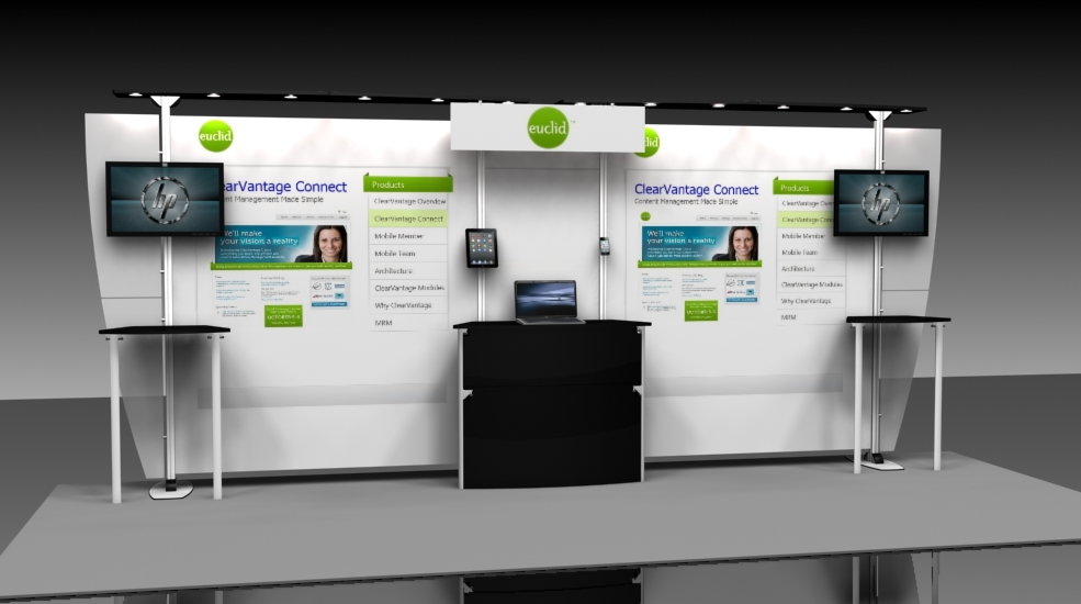 Exhibition Booth Rental : Growing businesses can opt for a trade show booth rental u explore
